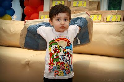Luca 2 anos – Com Patati Patata