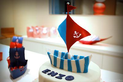 Enzo 1 ano – Decoração Marinheiro