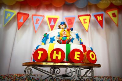 Théo 1 ano – Decoração Circo