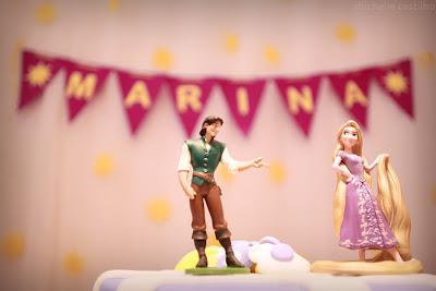 Marina 3 anos – Decoração Rapunzel
