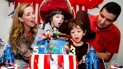 3 e 5 anos – Dani e Dudu
