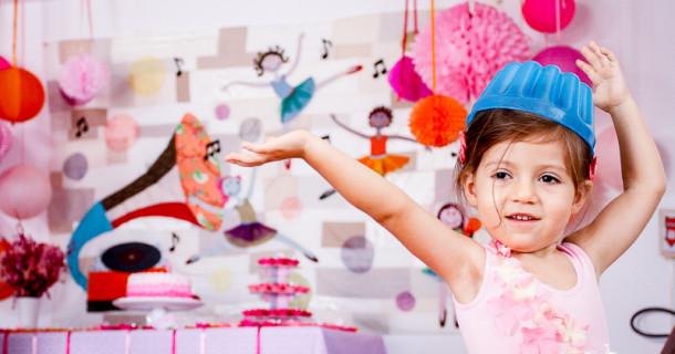 Bailarina Nina – 3 anos