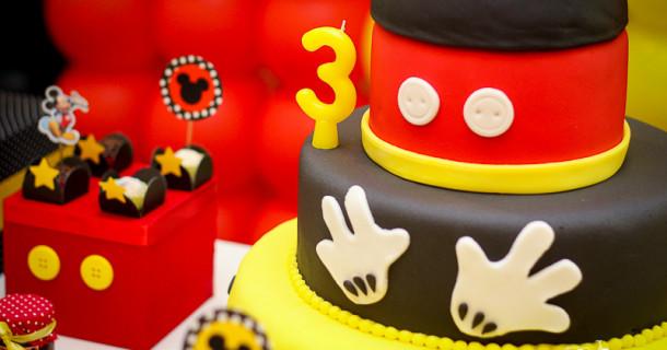 Bruno 3 anos – Decoração Mickey