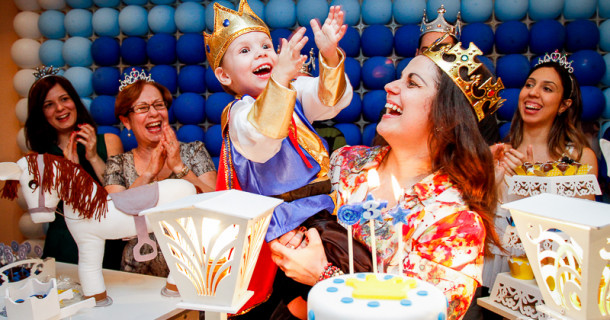Rei Artur – 3 anos – Festa Real