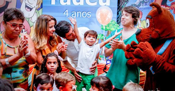 Tadeu – Festa com a turma do Scooby-doo!!!