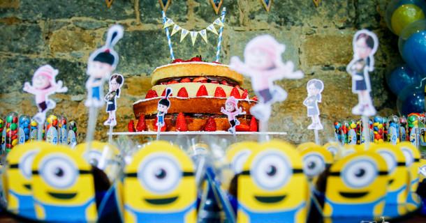 Decoração Minions – Festa do Benício 4 anos