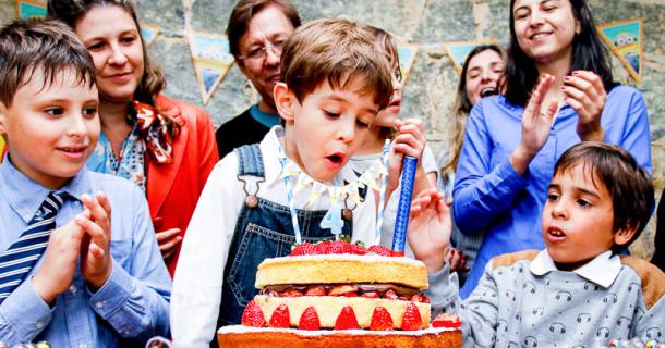Benício – 4 anos – A festa!