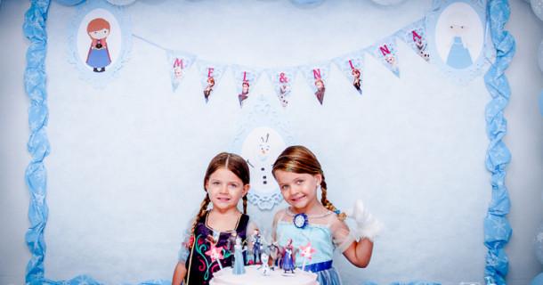 Mel e Nina – 4 anos – A festa!