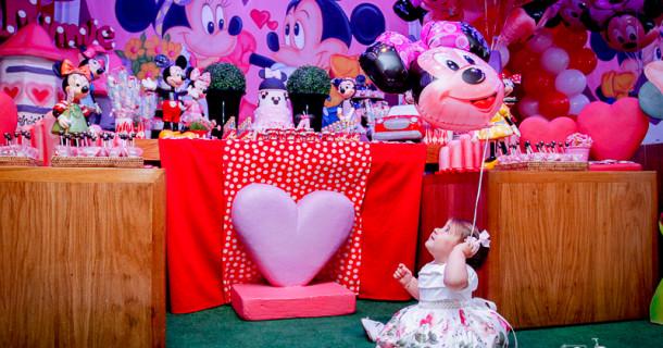 Camila – 1 ano – Festa da Minnie!