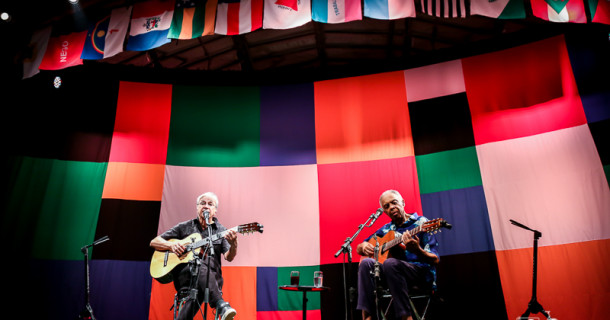 """""""Dois amigos, um século de música"""" – Circo Voador"""