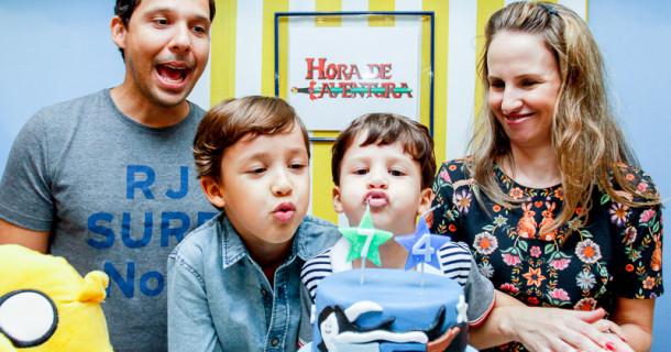 Rafael e Gabriel – 7 e 4 anos