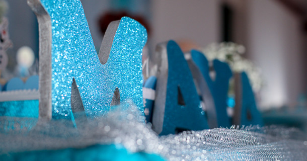 Maya 4 anos – Decoração Frozen