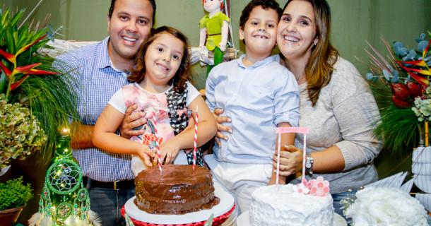 Lulu e Pepe – 5 anos – A festa!!!