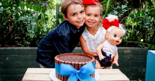 Alice e Antonio – 4 e 7 anos