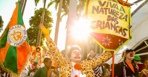 Baile de carnaval dos Gigantes da Lira no Circo Voador