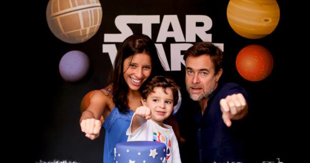 Joaquim – 4 anos – Star Wars