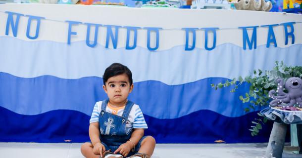 Joaquim 1 ano – O fantástico mundo Bita no fundo do mar!!!