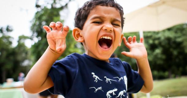 Miguel – 3 anos – PicNic com Dinossauros!