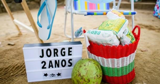 2 anos do carioca Jorge