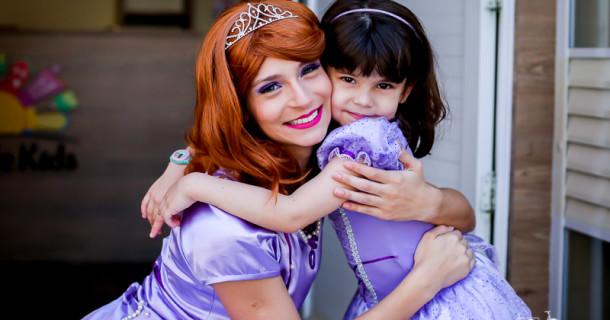 Clarinha – 5 anos – Princesa Sofia