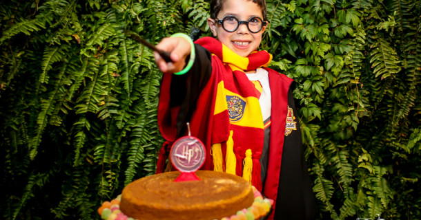 Felipe – 6 anos – Festa do Pijama do Harry Potter